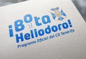 Logotipo ¡Bota Heliodoro!