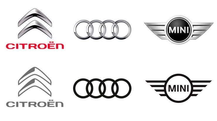 Diseño plano para logotipos